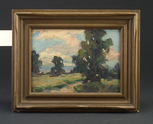 8: Edith Lorimer (American, 20th c.) landscap