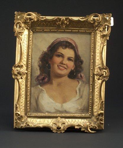 "23: Florenza (Italian, 20th c.) ""Smiling Woma"