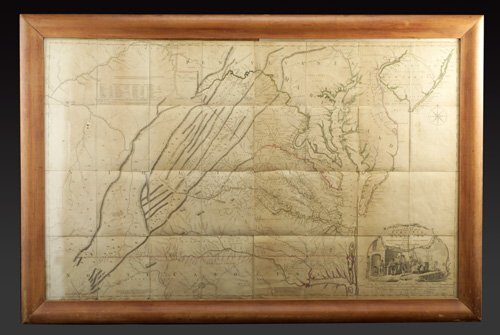 """85: Joshua Fry and Peter Jefferson, """"A Map of"""