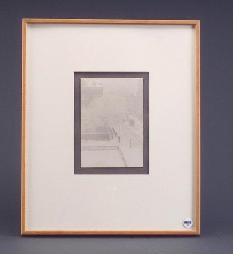 "8: Alfred Stieglitz, Untitled, photogravure, 7 1/4"" x 5"