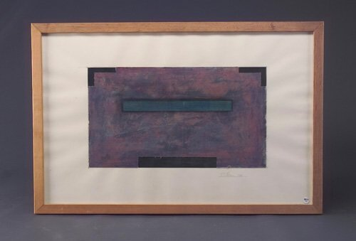 11: Rene Pierre Allain, Untitled, 1986, graphite and pa