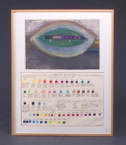 16: Bill Alpert (three works): CNG: Color Drawing #1, 1