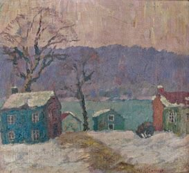 10: Fern I. Coppedge (1883-1951 New Hope, PA.) Winter E
