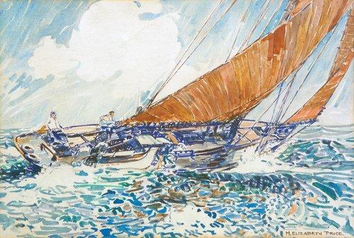 132: Mary Elizabeth Price (American 1877-1965, New Hope