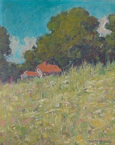 501: Walter Russell (American, 1871-1963); Untitled (La