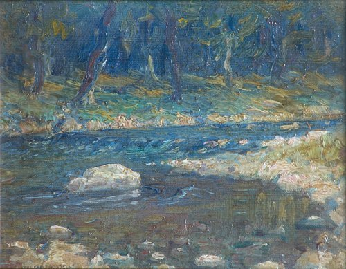 502: Walter Russell (American, 1871-1963); Untitled (Wi