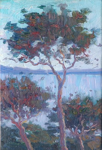 504: Walter Russell (American 1871-1963); Untitled (Lan