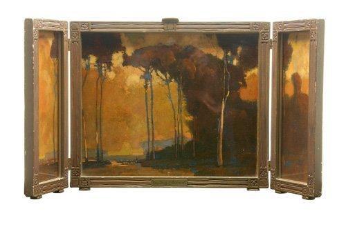 505: Karl Schmidt (American, 1890-1962); Tall Trees of
