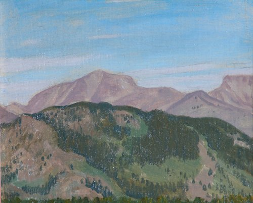507: Bryson Burroughs (American, 1869-1934); View from