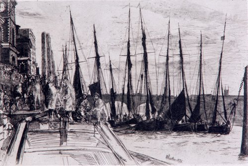 520: James McNeill Whistler (American, 1894-1903); Unti