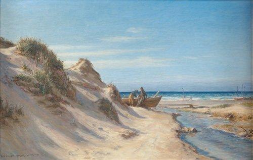 522: Neils Frederik Schiottz-Jensen (Danish, 1855-1941)