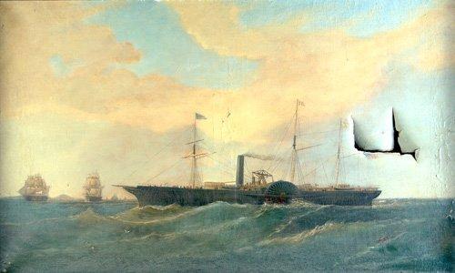 524: Unknown (American, 19th Century); Untitled (Steam