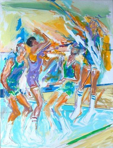 526: Elaine de Kooning (American, 1920-1989); Basketbal