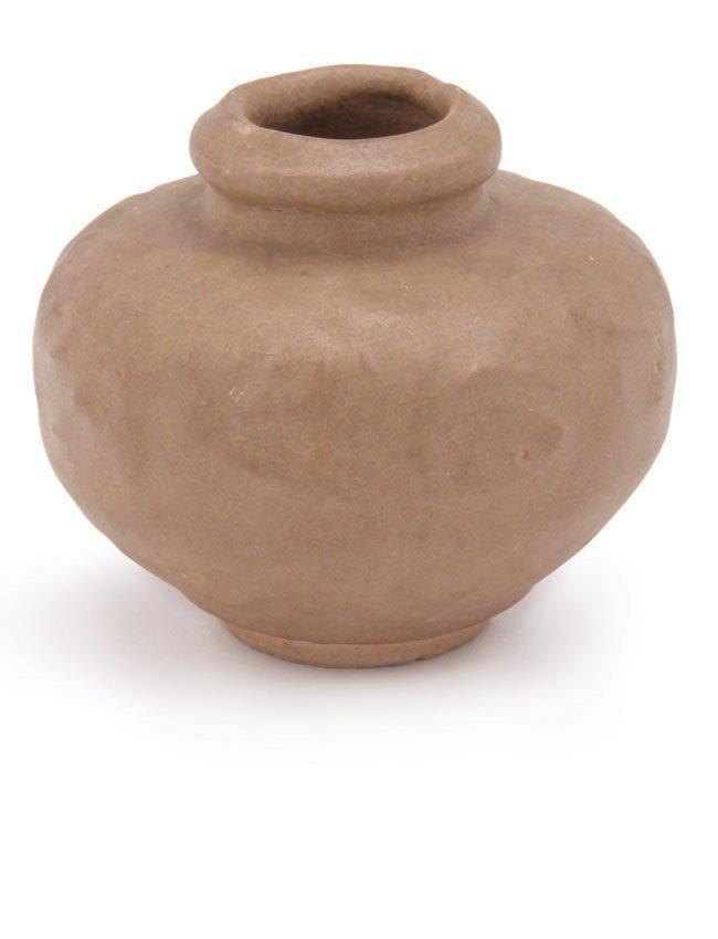 Yuan/Ming Dynasty Brownish Celadon Jarlet