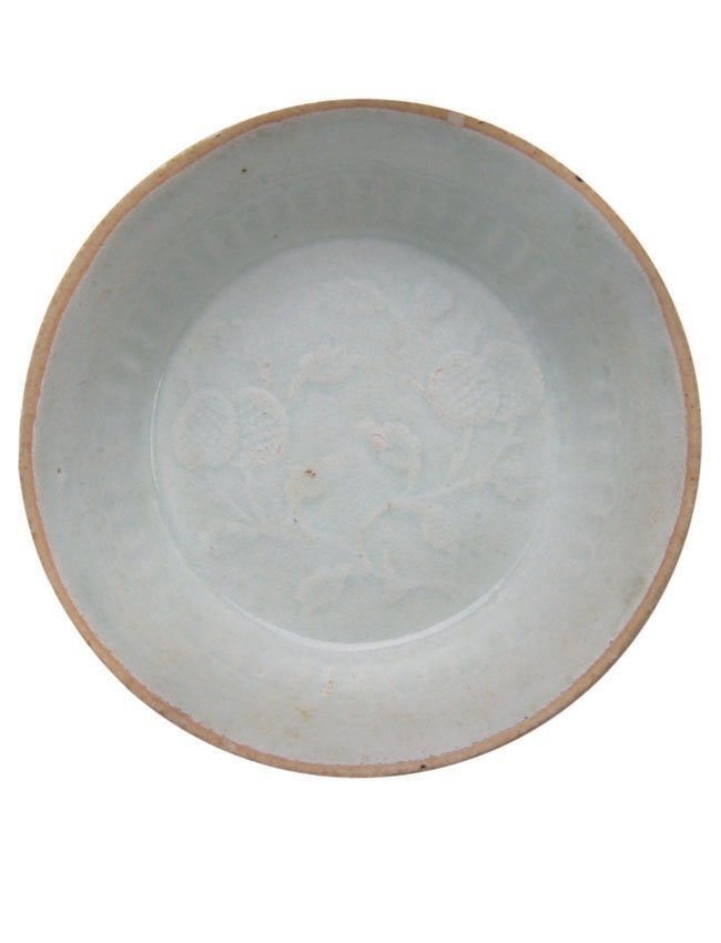 Pale Duck-Egg Blue Ying/Qing Shallow Dish