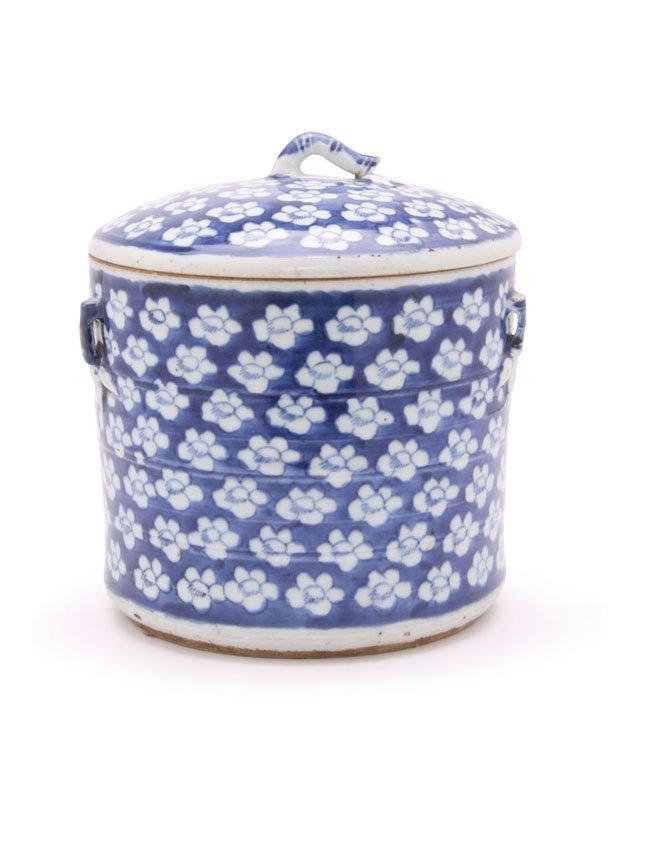 Large Chinese Porcelain Food Jar