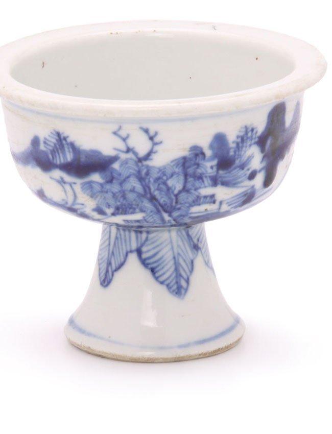 Chinese Porcelain Stem Dish