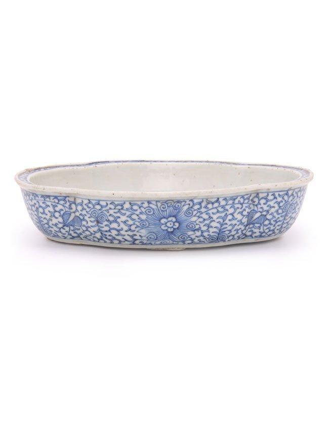 Chinese Porcelain Flower Pot Base