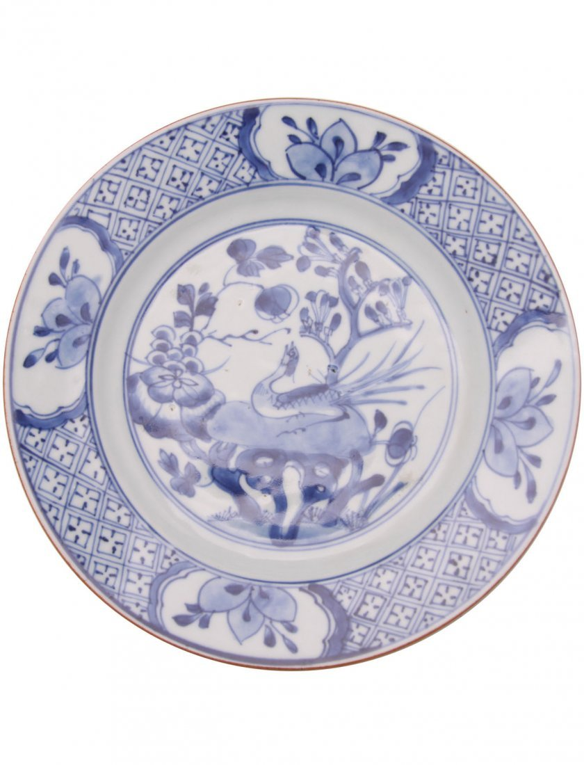 Early 18th C. Chinese Export Plate