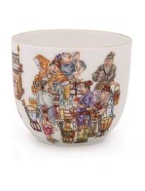 19th C. Chinese Royal Family Style Tea Cup