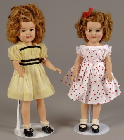 Two Shirley Temple Dolls by Ideal, 17""