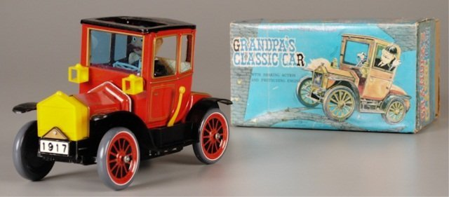 "Battery Operated Toy ""Grandpa's Classic Car"""