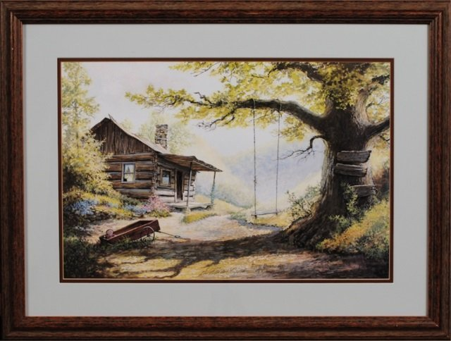 Two Prints Signed Lee Roberson, Townsend, TN - 6