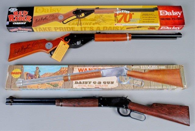 Two Daisy BB Guns, Model 894 & Red Ryder