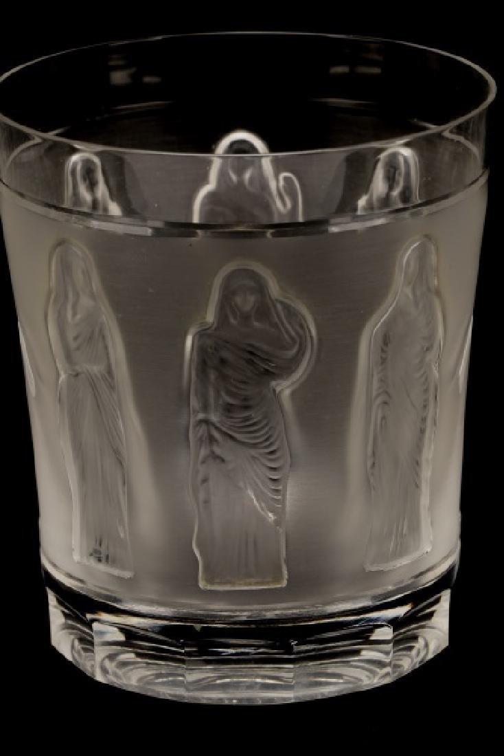 Set of 4 Lalique 'Femmes Antiques' Tumblers - 2