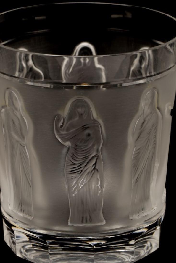 Set of 4 Lalique 'Femmes Antiques' Tumblers - 4