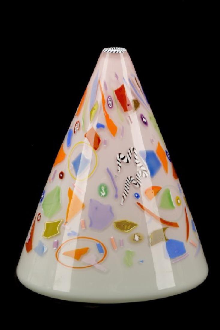 Richard Marquis Ro Purser Volcano Glass Vase