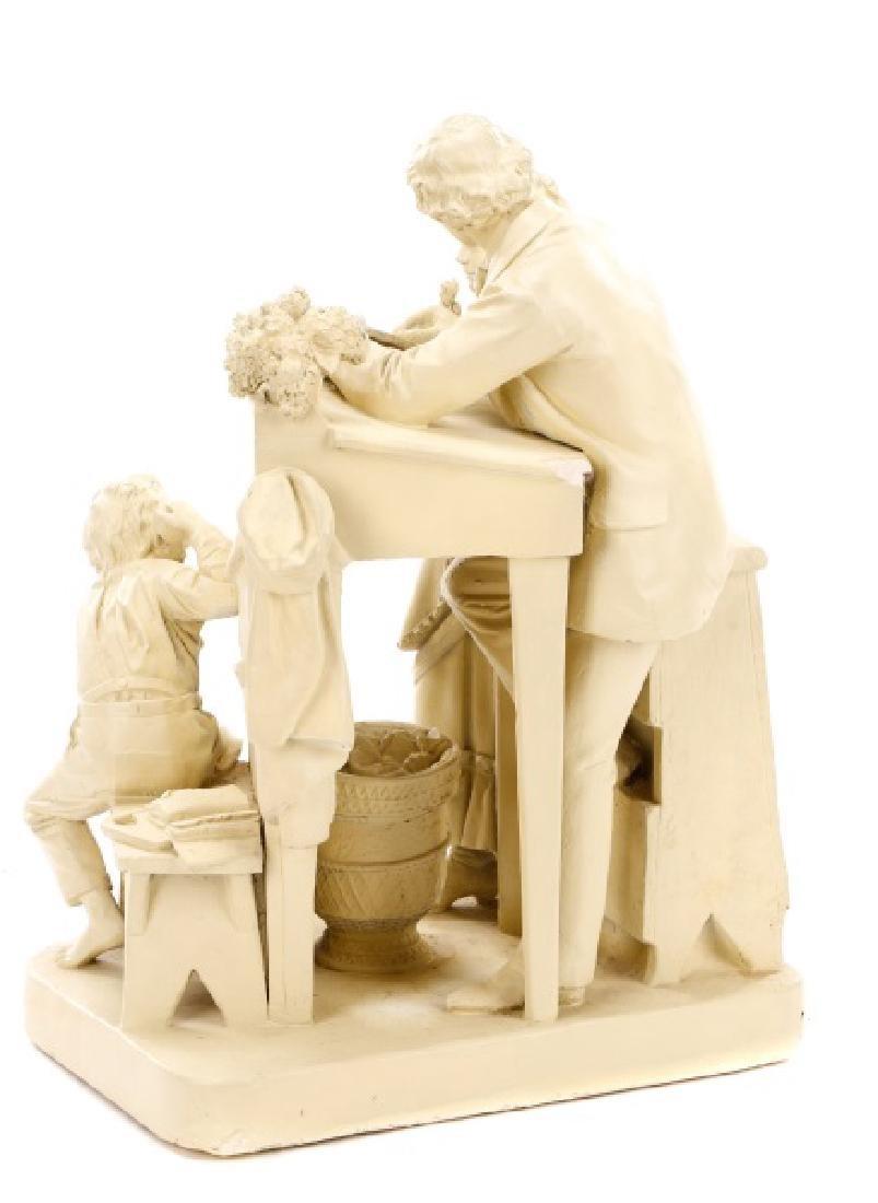 "John Rogers Sculpture, ""The Favored Scholar"" - 6"