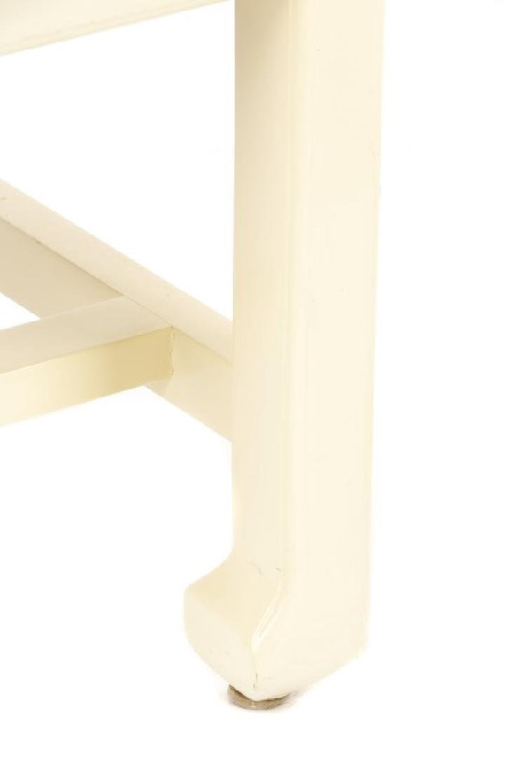 Pair of Modern Horseshoe Veneered Armchairs - 5
