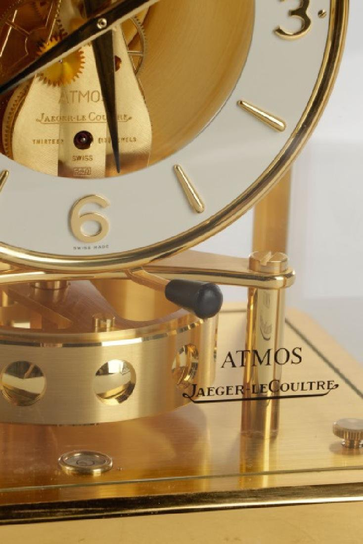 Atmos Jaeger LeCoultre Glass Front Table Clock - 2