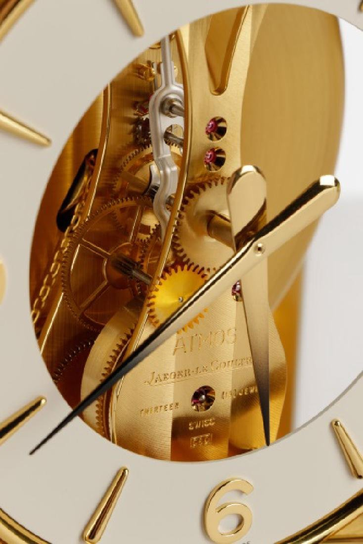 Atmos Jaeger LeCoultre Glass Front Table Clock - 4