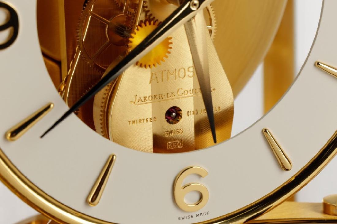Atmos Jaeger LeCoultre Glass Front Table Clock - 5