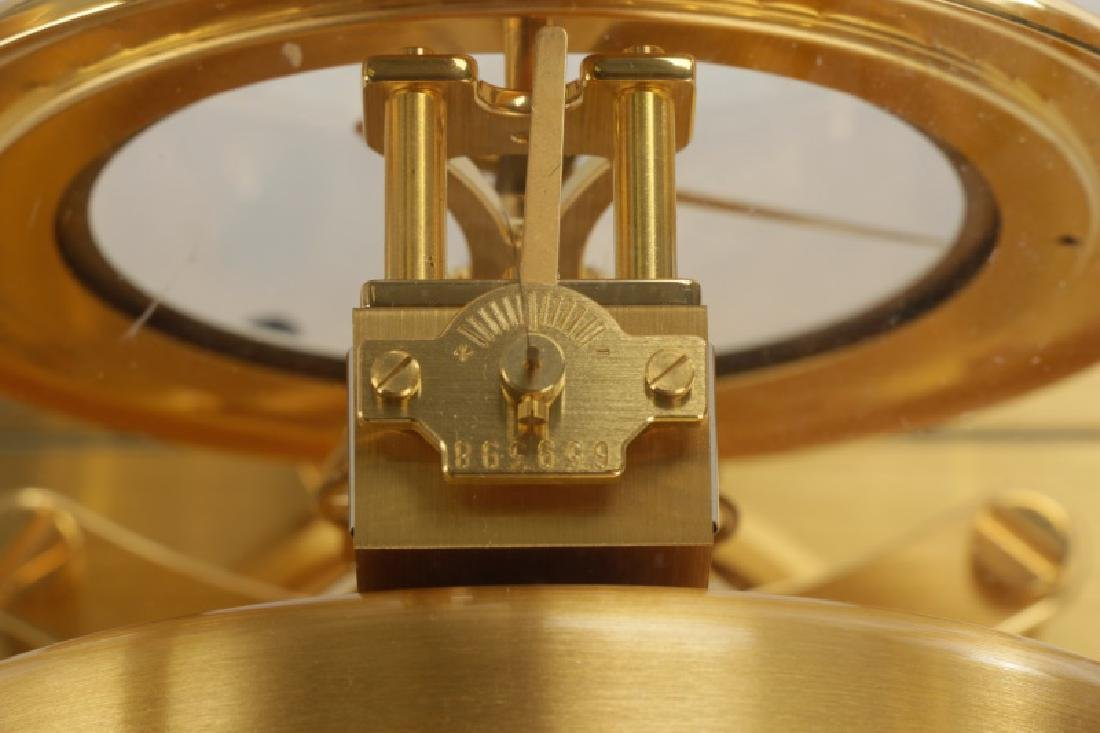 Atmos Jaeger LeCoultre Glass Front Table Clock - 6
