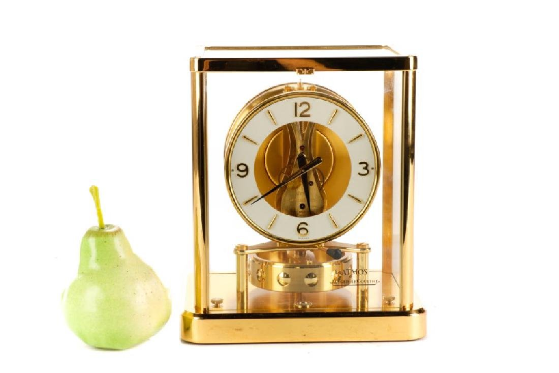 Atmos Jaeger LeCoultre Glass Front Table Clock - 7