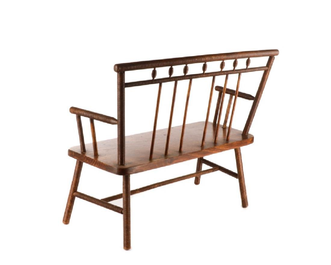 American Diminutive Child's Bench, Likely Southern - 2