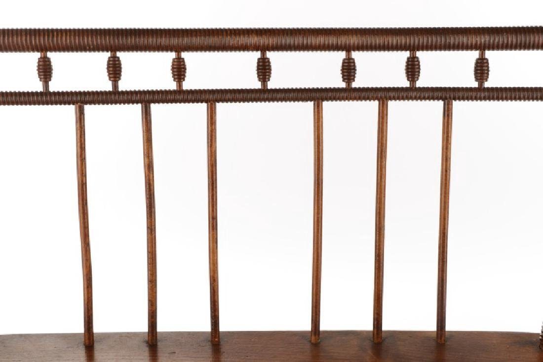 American Diminutive Child's Bench, Likely Southern - 4