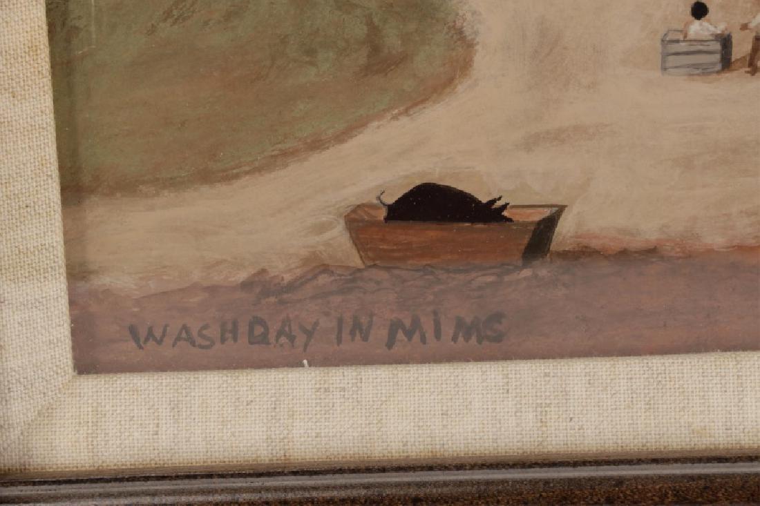 "After William Aiken Walker, ""Wash Day"", Gouache - 2"