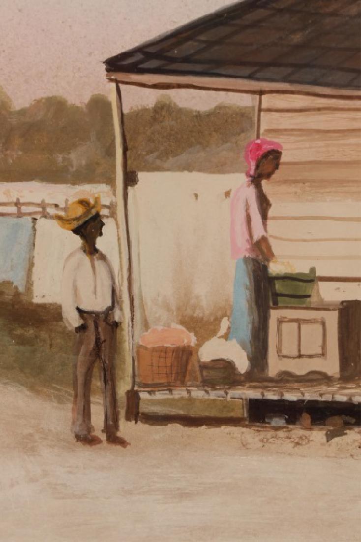 "After William Aiken Walker, ""Wash Day"", Gouache - 4"