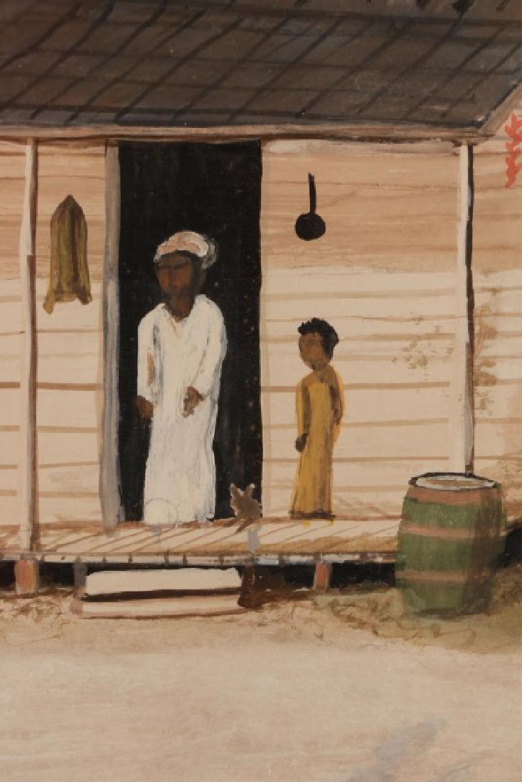 "After William Aiken Walker, ""Wash Day"", Gouache - 5"