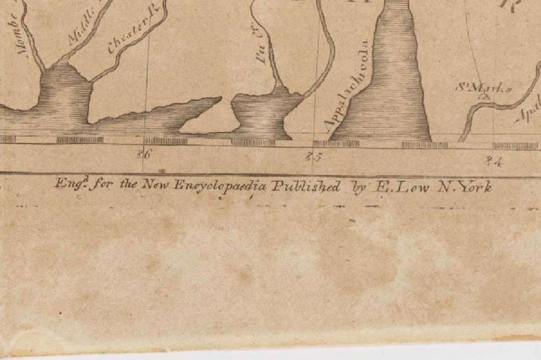 Early Map of Georgia, John Payne, Circa 1810 - 7