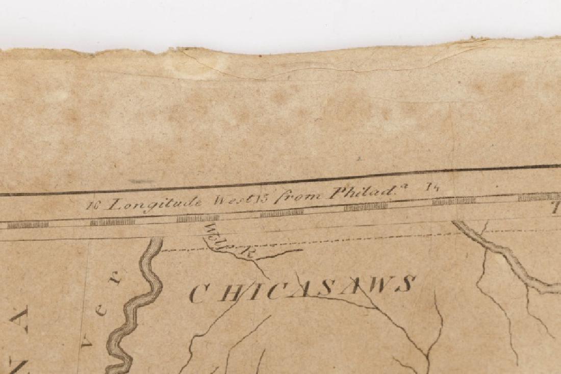 Early Map of Georgia, John Payne, Circa 1810 - 8