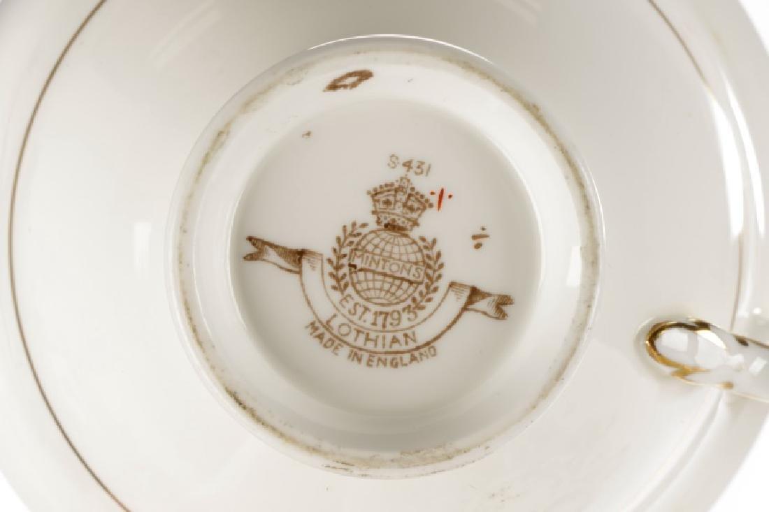 74 Pieces Minton Lothian Porcelain Dinner Ware - 4