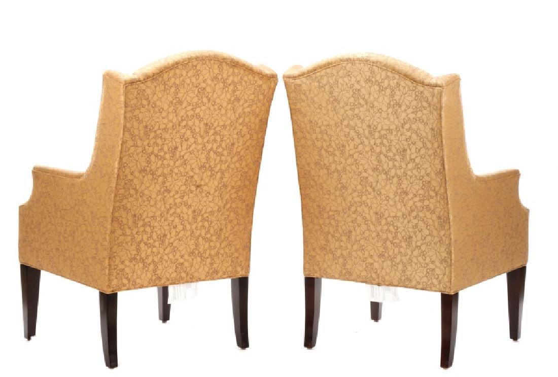 Pair of Dapha for Baker Upholstered Armchairs - 6
