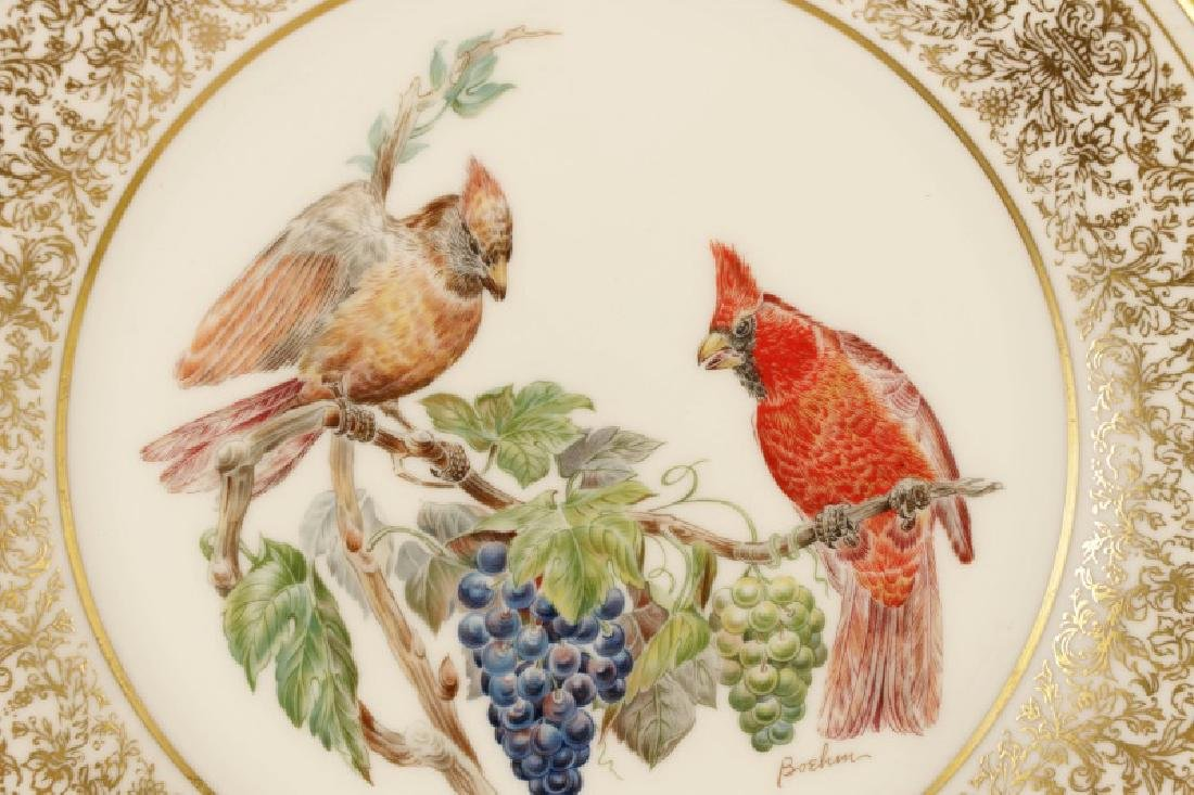 Set of 12 Boehm for Lenox Ornithological Plates - 5