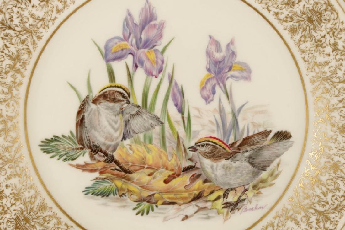Set of 12 Boehm for Lenox Ornithological Plates - 9
