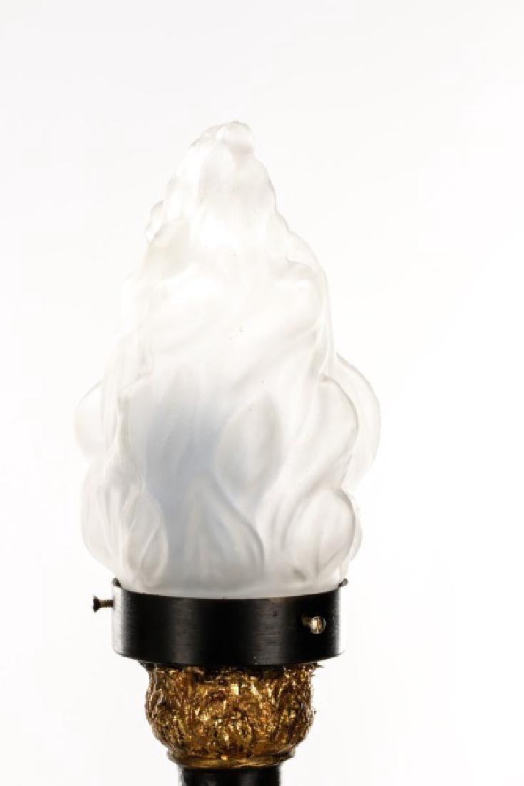 Pair of Blackamoor Torchiere Floor Lamps - 4